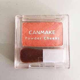 CANMAKEのフェイスパウダー