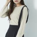 サスペンダー×スカートのレトロな魅力♡個性プラスのガーリーコーデ