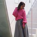 トレンド大本命はピンクセーター♡春先まで楽しめるふんわりモテコーデ14選